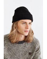 Urban Outfitters - Black Lumberjack Cuffed Beanie for Men - Lyst