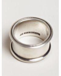 Ann Demeulemeester - Metallic Mens Large Ring for Men - Lyst