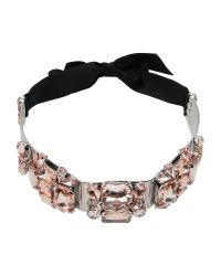 DSquared² - Pink Necklace - Lyst