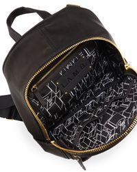 L.A.M.B. - Black Iban Logo-embossed Backpack - Lyst