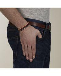Lulu Frost - Gray G. Frost Wooden Morse Bracelet Black for Men - Lyst