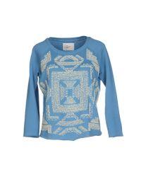 Leon & Harper | Blue Sweatshirt | Lyst