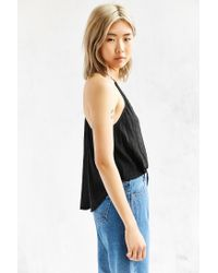 Silence + Noise | Black Karly Twisted Cami | Lyst