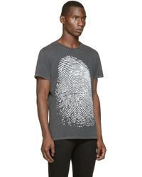 DIESEL | Gray Grey T_rousen T_shirt for Men | Lyst