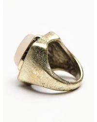 Free People - Metallic Mercury Ring - Lyst