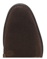 Cheaney Brown Jackie Suede Boots for men