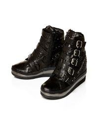 Moda In Pelle Black Adela Medium Casual Shoes