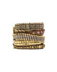 Hipanema | Metallic Plantine Bracelet | Lyst