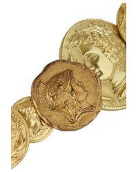 Dolce & Gabbana - Metallic Goldtone Coin Bracelet - Lyst
