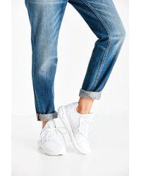 Adidas White Ultra Boost Kva Sneakers - Core Black/grey/solar Green