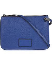 Marc By Marc Jacobs | Blue Ligero Double Percy Cross-body Bag - For Women | Lyst