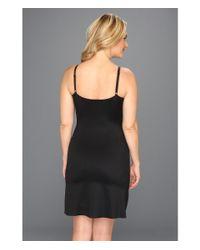 Spanx Black Plus Size Slimplicity Lingeriestrap Slip