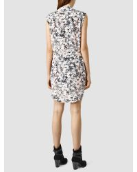 AllSaints Pink Luna Goya Dress