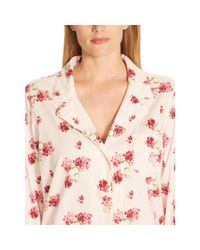 Ralph Lauren - Pink Floral Jersey Sleep Shirt - Lyst
