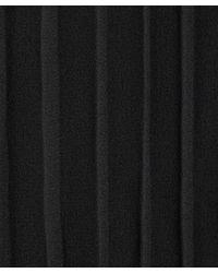 CLU - Black Pleated Back Knitted Cardigan - Lyst