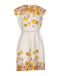 Giambattista Valli - White Short Dress - Lyst