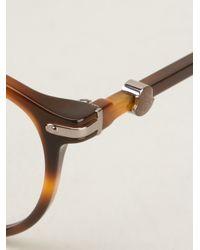 Moncler Brown Optical Glasses for men