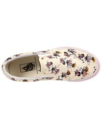 Vans - Pink Disney® Classic Slip-on™ - Lyst
