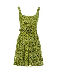 Christopher Kane - Green Short Dress - Lyst