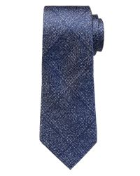 Banana Republic | Blue Plaid Silk Tie for Men | Lyst