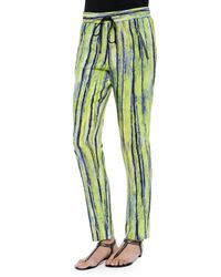 Andrew Marc - Multicolor Drawstring Pants - Lyst