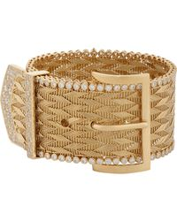Aurelie Bidermann - Metallic Belt Bracelet - Lyst