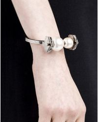 Lanvin   White Bracelet   Lyst