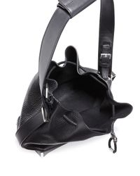 Alexander Wang - Black Prisma Drawstring Bucket Bag - Lyst