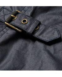 Belstaff | Blue Burgess Waxedcotton Jacket for Men | Lyst