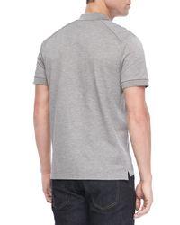 Belstaff Gray Mens Aspley Polo-shirt for men