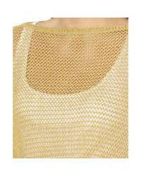 Lauren by Ralph Lauren Plus Size Metallic Openknit Poncho