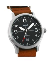 AVI-8 Brown Flyboy Watch