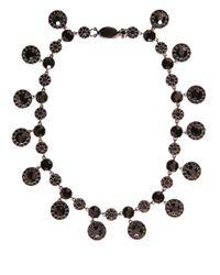 Givenchy   Black Crystals-embellished Necklace   Lyst
