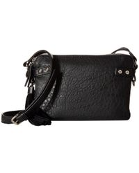 French Connection | Black Camden - Crossbody | Lyst