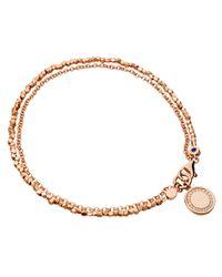 Astley Clarke | Pink Cosmos Nugget Bracelet | Lyst