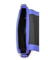 MILLY - Blue Astor Saddle Bag - Lyst