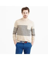 J.Crew | Natural Textured Cotton Beach Sweater for Men | Lyst