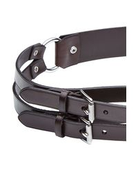 Ralph Lauren Black Label - Leather Belt - Brown - Lyst