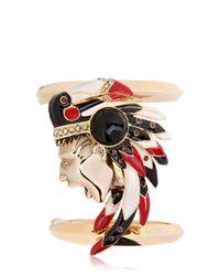 Schield - Metallic Indian Bracelet - Lyst