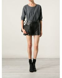 Vivienne Westwood Black Polka Dot Cross Body Bag