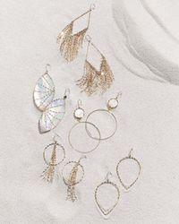 Lana Jewelry | Metallic 14k Small Glam Pear-shape Hoop Earrings | Lyst
