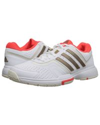 Adidas   White Barricade Court   Lyst