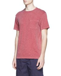 J.Crew Red Garment-dyed Tee for men