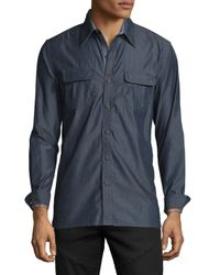 Robert Graham - Blue Brass Monkey Tailored-fit Sport Shirt for Men - Lyst