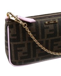 Fendi | Black Clutch | Lyst