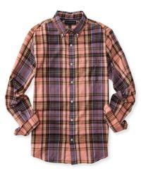Aéropostale | Multicolor Long Sleeve Flannel Woven Shirt for Men | Lyst