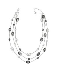 Swarovski | Metallic Pamela Necklace | Lyst