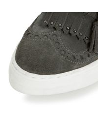 Dune | Gray Erynn Casuals Trainers | Lyst
