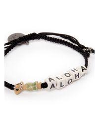 Venessa Arizaga | Black 'aloha' Bracelet | Lyst