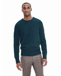 Banana Republic | Green J.c. Rennie & Co. Shetland Wool Sweater Pullover for Men | Lyst